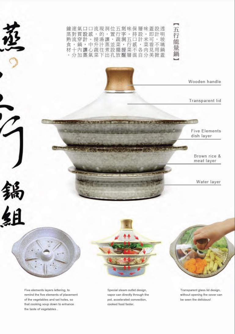 五行養生能量鍋組2